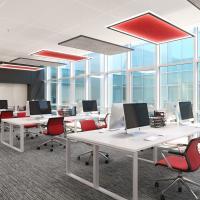 Quad Acoustic Panels - Office